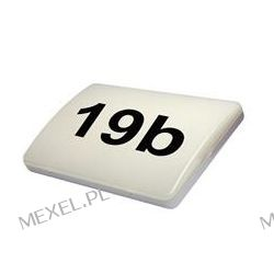 Oprawa LED natynkowa z czujnikiem zmierzchu 12W i numerem domu