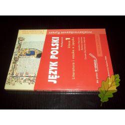 JĘZYK POLSKI 1 - Klejnocki - Podręcznik