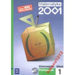 MATEMATYKA 2001 KL 1 PODRĘCZNIK+CD