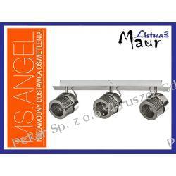LISTWA MAUR 3x50W GU10 INOX