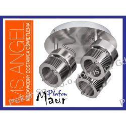 PLAFON MAUR 3x50W GU10 INOX