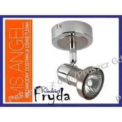 KINKIET HALOGENOWY FRYDA 1 X 50W - SATYNA (INOX)