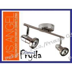 LISTWA HALOGENOWA FRYDA 2 X 50W - SATYNA (INOX)