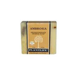 Plantlife, Aromatherapy Herbal Soap, Ambrosia, 4 oz (113 g) - iHerb.com