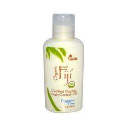 Organic Fiji, Certified Organic Coconut Oil, Fragrance Free, 3 oz (89 ml) - iHerb.com