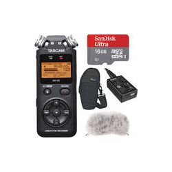 Tascam DR-05 Portable Recorder Value Pack B&H Photo Video Preparaty
