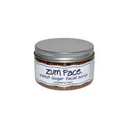 Indigo Wild, Zum Face, Walnut Sugar Facial Scrub, Rosemary-Mint, 5 oz - iHerb.com