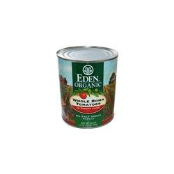Eden Foods, Organic Whole Roma Tomatoes, 28 oz (794 g)