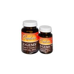 Carlson Labs, E Gems, 400 IU, 2 Bottles, 90 Softgels + 44 Soft Gels  Preparaty