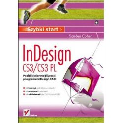 InDesign CS3/CS3 PL. Szybki start - Sandee Cohen