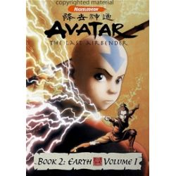 Avatar Book 2: Earth - Volume 1 (DVD 2006)