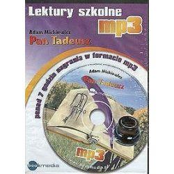 Pan Tadeusz. Lektury szkolne - książka audio na CD (CD) - Adam Mickiewicz