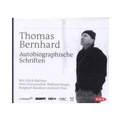 Hörbücher: Autobiographische Schriften  von Thomas Bernhard