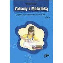 Zabawy z Malwinką. Ćwiczenia przygotowujące do nauki pisania, część 2 - Mirosława Kwaśniewska