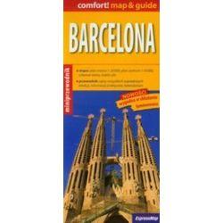 Barcelona Map & Guide - mapa z miniprzewodnikiem