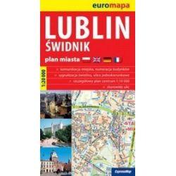 Lublin, Świdnik - papierowy plan miasta 1:20 000