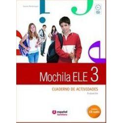 Język hiszpański. Mochila 3 ćwiczenia + CD audio + portfolio, gimnazjum