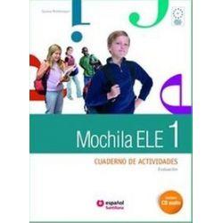 Język hiszpański. Mochila 1 ćwiczenia + CD audio + portfolio, gimnazjum