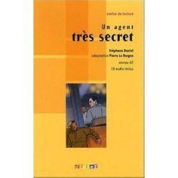 Język francuski. Un agent tres secret + CD audio poziom A2, gimnazjum