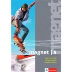 Język niemiecki, Magnet 4 - ćwiczenia, gimnazjum - Giorgio Motta
