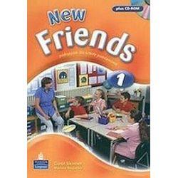 Język angielski. Friends New 1 - podręcznik , klasa 4-6, szkoła podstawowa - Mariola Bugecka, Carol Skinner