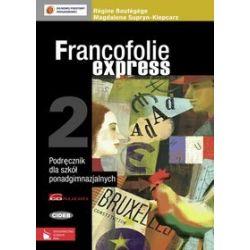 Język francuski. Francofolie express 2 - podręcznik, szkoła ponadgimnazjalna - Régine Boutégege, Magdalena Supryn-Klepcarz