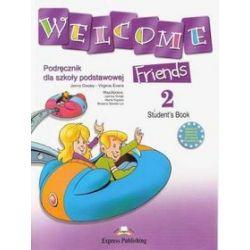 Język angielski. Welcome friends 2. Student's book , klasa 4-6, szkoła podstawowa - Jenny Dooley, Virginia Evans