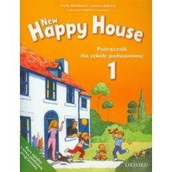 Język angielski. New Happy House 1 - podręcznik, szkoła podstawowa