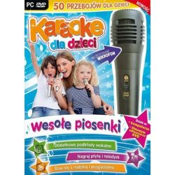 Karaoke dla dzieci - Wesołe Piosenki (PC) DVD