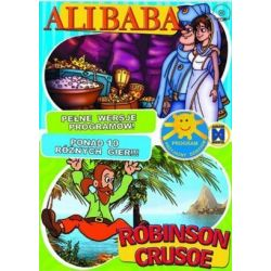 Alibaba i 40 rozbójników + Robinson Crusoe CD-ROM
