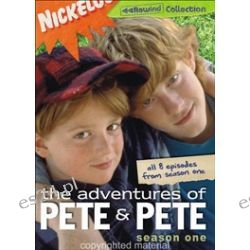 Adventures of Pete & Pete, The: Season One (DVD 1993)