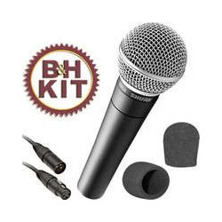 Shure  SM58 Cardioid Microphone Kit  B&H Photo Video Sprzęt audio dla domu