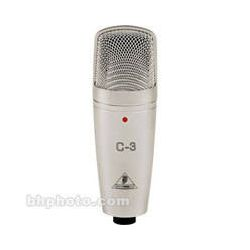 Behringer  C-3 Studio Condenser Microphone C-3 B&H Photo Video Sprzęt audio dla domu