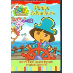 Dora The Explorer: Pirate Adventure (DVD 2004)