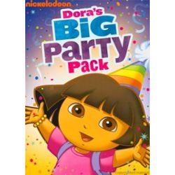 Dora The Explorer: Dora's Big Party Pack (DVD 2011)