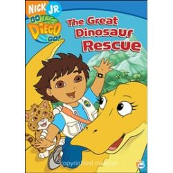 Go Diego Go!: The Great Dinosaur Rescue (DVD 2006)