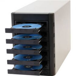 Microboards  Multi-Writer DVD/CD Tower MWDVD-05 B&H Photo Video Sprzęt audio dla domu