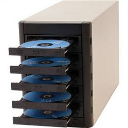 Microboards Multi-Writer Blu-ray Tower Duplicator MWBD-05 B&H Sprzęt audio dla domu