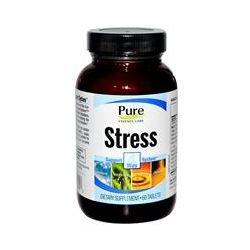 Pure Essence, Stress, 4 Way Support System, 60 Tablets