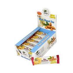 Oskri, Fiber Almond Bar, 20 Bars, 1.9 oz (53 g) Each