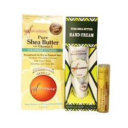 Out of Africa, Shea Butter Gift Pack, 3 Pieces