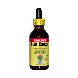 Nature's Answer, Blue Cohosh. Root, Organic Alcohol Fluid Extract (1:1), 2 fl oz (60 ml)