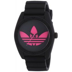 Adidas Herren-Armbanduhr XL Analog Quarz Silikon ADH2878