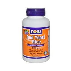 Now Foods, Red Yeast Rice, 600 mg, 120 Veggie Caps