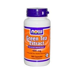 Now Foods, Green Tea Extract, 400 mg, 100 Capsules