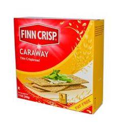 Finn Crisp, Caraway Thin Crispbread, 7 oz (200 g)
