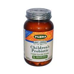 Flora, Udo's Choice, Children's Probiotic, 60 Veggie Caps