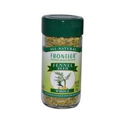 Frontier Natural Products, Fennel Seed, Whole, 1.41 oz (40 g)