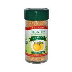 Frontier Natural Products, Organic Lemon Peel, Granules, 1.70 oz (47 g)