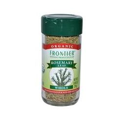 Frontier Natural Products, Organic Rosemary Leaf, Whole, 0.85 oz (24 g)